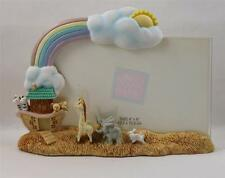 Russ Berrie Gifts From Heaven Baby Noah Ark Photo Frame Baby Nursery Animals