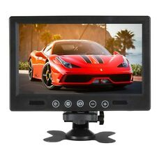 9Inch Remote Control TFT LCD Color 2CH Video Input Car Rear View Monitor DC12V