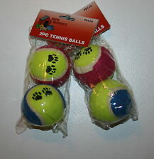2 PACKS PETWORKS 2 PC TENNIS BALLS FOR DOGS