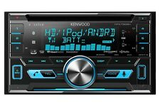 Kenwood DPX792BH Double Din CD Receiver w/ Built In Bluetooth & HD Radio