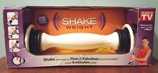 NEW Shake Weight Weights Dumbbell with instructions and DVD with 6 min workout