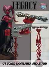 Custom Lightsaber + Stand Sideshow Darth Talon  Premium Format Statue exclusive