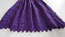 Award Winning Latina Designer VERONICA PRIDA Long Mexican Purple Skirt Mint!