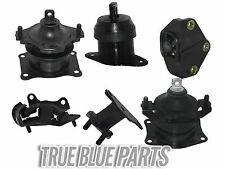 2003-2007 Honda Accord Engine Motor Mounts V6 3.0L (w/Front&Rear Vacuum Mounts)