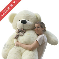 "Joyfay® 78"" 200cm White Giant Teddy Bear Huge Plush Toy Christmas Birthday Gift"