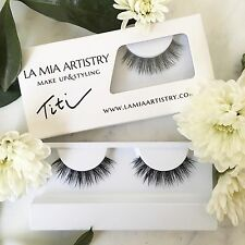 "LMA Mink Lashes In ""Titi"" 100% Natural mink Strip Lashes"
