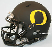 OREGON DUCKS (Matte Black) Riddell Speed Mini Helmet