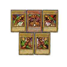 YuGiOh Playset - Exodia the Forbidden One - Full 5 Card LOB Ultra Rare Set