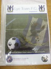 19/12/2015 Lye Town v Hereford [1st Season] . Any faults with this item have bee
