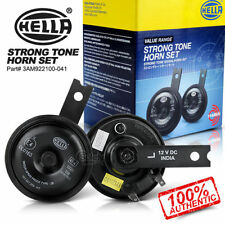 Hella Skoda Type Strong Tone Horn New Generation Set of 2 For Car And Bike