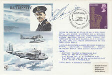 HA Bennett Own FDC Signed D C T Bennett Pilot attacked the Tirpitz,shot down Esc