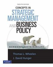 Concepts in Strategic Management & Business Policy (12th Edition)
