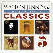 Original Album Classics - Waylon Jennings (2013, CD NIEUW) Slipcase5 DISC SET