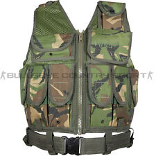 Military Style Special Ops Vest Viper LA Vest British Dpm Camo Army Airsoft