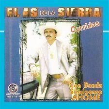 """EL AS DE LA SIERRA """"Corridos Con La Banda Sinaloense AHOME"""" NEW Sealed CD (2008)"""