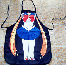Novelty Funny Sailor moon DINNER PARTY COOKING Sailormoon APRON sailor chibimoon