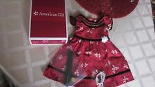 American Girl Cecile Special Dress Brand New in Box Complete Christmas Outfit