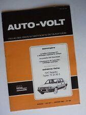 Auto Volt Fiat Regata 70, 85S