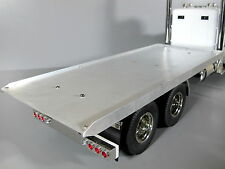 Custom Rear Aluminum Flat Bed Deck Section for Tamiya 1/14 RC King Grand Hauler