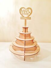 Personalizzata Mr & Mrs FERRERO ROCHER PIRAMIDE WEDDING Display Stand ferrerorocher