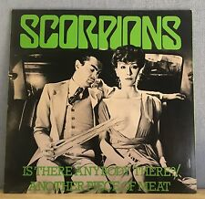 """SCORPIONS Is There Anybody There? 1979 UK 12""""   Vinyl Single EXCELLENT CONDITION"""