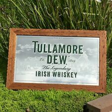 "Tullamore D.E.W. Irish Whiskey Beer Bar Pub Man Cave Mirror ""New"""