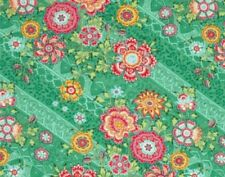Amy Butler PWAB075 Lark Heirloom Jade Cotton Fabric By Yard Out Of Print