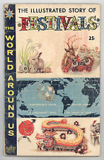 World Around Us #17 VG Festivals - Crandall - Evans - FREE SHIPPING