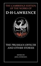 The Prussian Officer and Other Stories (The Cambridge Edition of the W-ExLibrary