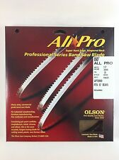 """Olson All-Pro Band Saw Blade 80"""" x 1/2"""", 3TPI for Craftsman 12"""" & others, USA"""