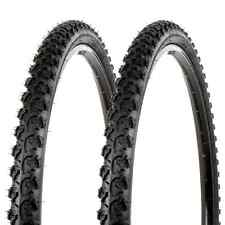 "Sunlite Bicycle K831 Alpha Bite Mountain Tires PAIR 26x1.95"" Black Trail Knobby"