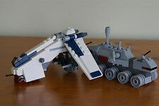 Lego Star Wars Brickmaster Comic Con Exclusive Dropship + 20006 Clone Turbo Tank
