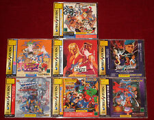 Saturn STREET FIGHTER ZERO 1 3 FILM MARVEL X-MEN VAMPIRE SAVIOR SUPER PUZZLE IIX