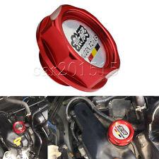 MUGEN  Red Car Billet Engine Oil Filler Tank Cap Cover FIT for Honda Acura Civic