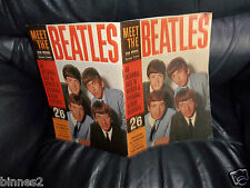 """THE BEATLES -1963- """"Meet The Beatles"""" STAR SPECIAL  Near Mint PRICED 2/6 ACE !"""