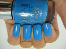 NEW! OPI INFINITE SHINE NAIL POLISH Nail Lacquer in WILD BLUE YONDER