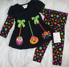 24 Mon Bonnie Baby Tutu Shirt Pants Girl Special Occassion Party Halloween Owl