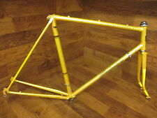 VINTAGE BRIDGESTONE KABUKI DIAMOND LUGGED CHROMOLY STEEL ROAD BIKE FRAME SET 57