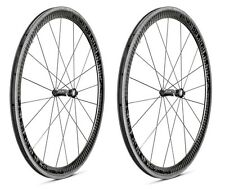 XeNTiS XBL 4.2 20/24 spokes 42mm Tubular Carbon Bicycle Wheel Set Black