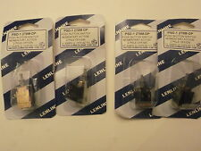 PSD-1 2T8M-DP - QTY 4 - NEW PUSHBUTTON SWITCH MOMENTARY ACTION 2 POLE OFF/ON