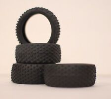 Replacement Tire Set for Himoto / Iron Track Spino 1:18 RC Buggy E18XB E18XBL