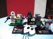 KO Lego not Original star Wars set of 4