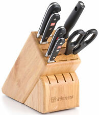 Wusthof Classic Seven Piece Block Knife Set 7417 New Auth Dealer SAME DAY SHIP