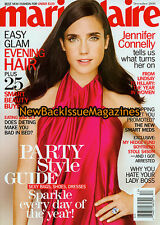 Marie Claire 12/08,Jennifer Connelly,December 2008,NEW