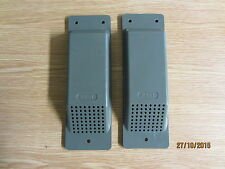 "SHIPPING/STORAGE CONTAINER CABIN AIR VENTS LT GREY X 2 ""EASY FIT"" FREE DELIVERY"