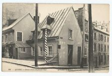 Quebec House where Monlcalm Died ND Phot Vintage Postcard