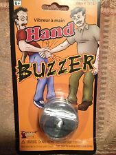 Joy Buzzer Hand Ring - Jokes, Gags, Pranks - Vibrating Fun That's Hilarious!