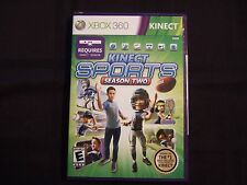 Replacement Case (NO GAME) KINECT SPORTS SEASON TWO  XBOX 360