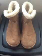 Ladies Size 7 (40-41) Ankle Tan Boots ATMOSPHERE