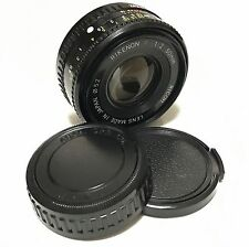 RICOH Rikenon P 50mm F2 Standard Lens Pentax K Mount Great Condition Japan F/S